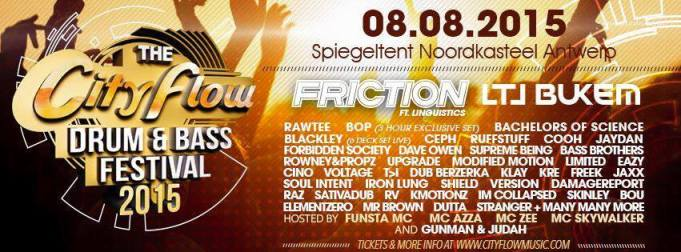 Mr. Brown was featured at the City Flow Drum-n-bass Festival in Antwerp, Beligium.