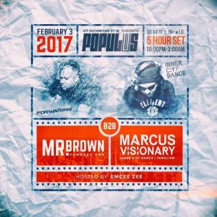 Mr. Brown with the mighty Marcus Visionary of Kool FM for another of their extended back to back sets. This one was an incredible 5 hours!