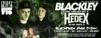 Blackley with Allday