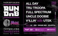 Allday at RUN DNB at Thymless, Toronto Canada