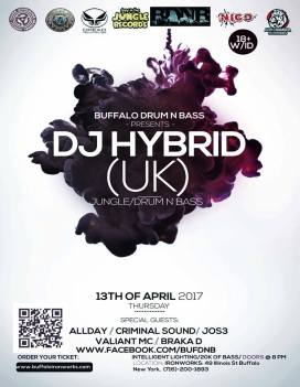 DJ Hybrid with Allday