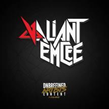 Valiant Emcee logo.
