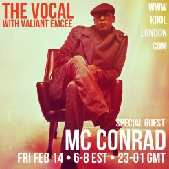 MC Conrad was the special guests for this episode of The Vocal.