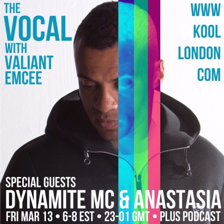 MC Dynamite and Anastasia were the special guests for this episode of The Vocal.